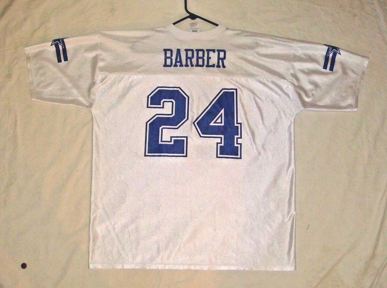 MEN'S NFL DALLAS COWBOYS # 24 MARION BARBER SCREEN PRINT JERSEY XXLARGE 2XL