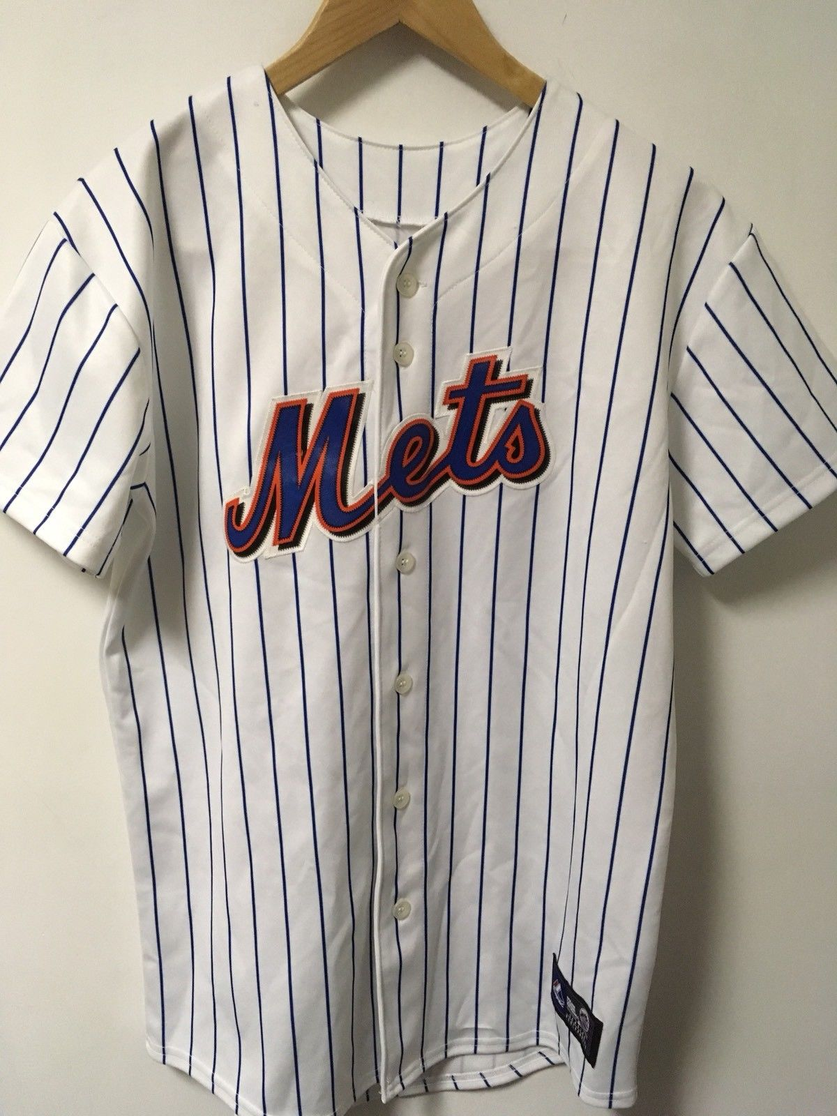 MLB New York Mets Johan Santana #57 Replica Jersey by Majestic Size Youth Large