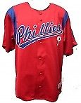 MLB Philadelphia Phillies Baseball Jersey Stitched Lettering