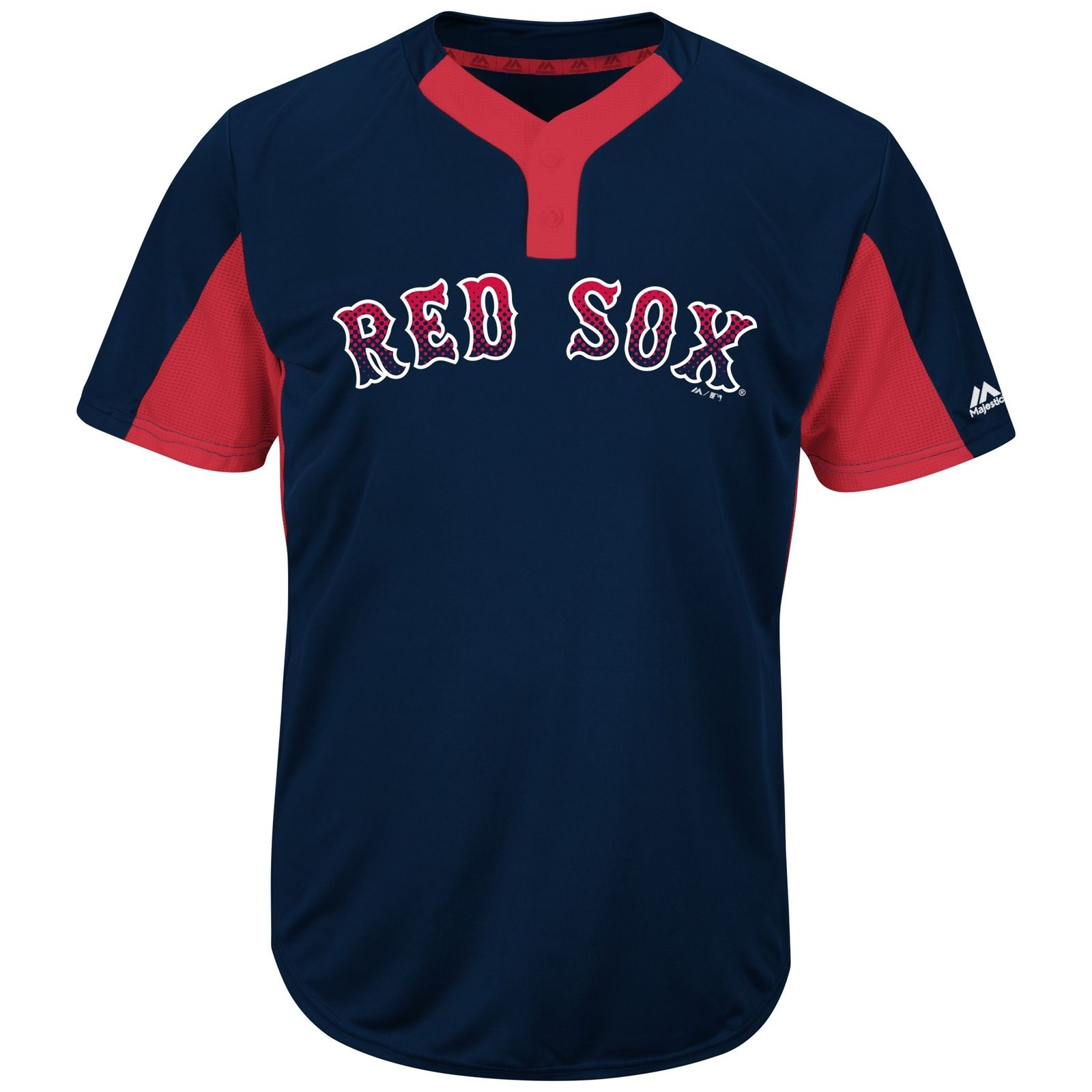 Majestic MLB Red Sox Youth Premier Eagle 2-Button Jersey