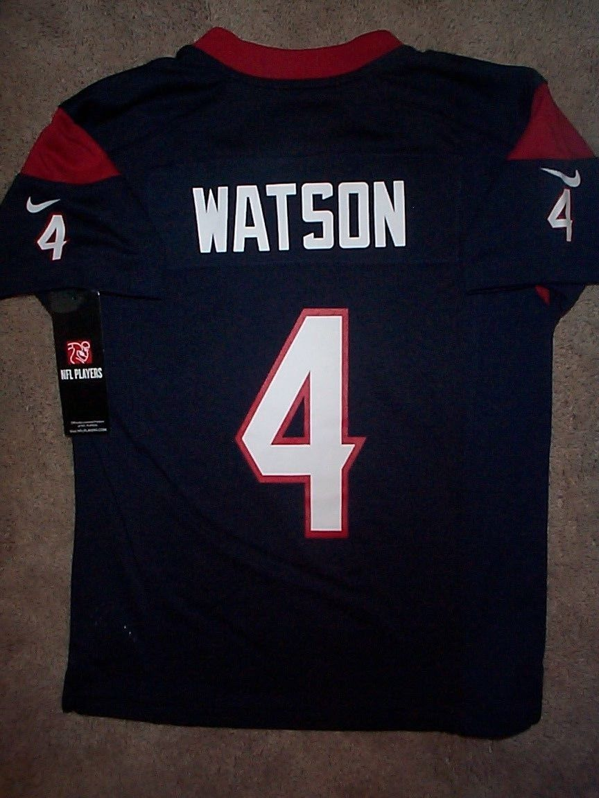 NIKE Houston Texans DeSHAUN WATSON nfl Jersey YOUTH KIDS BOYS (s-small)