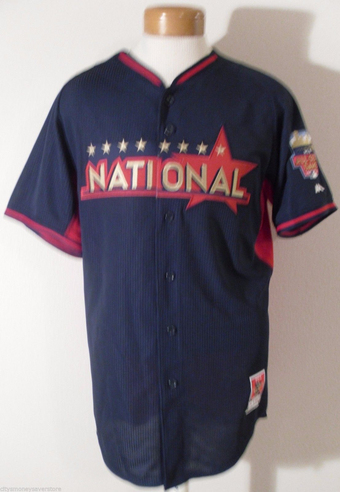 NWT Majestic Cool Base Mens 2014 MLB National League All Star Jersey L MSRP$100