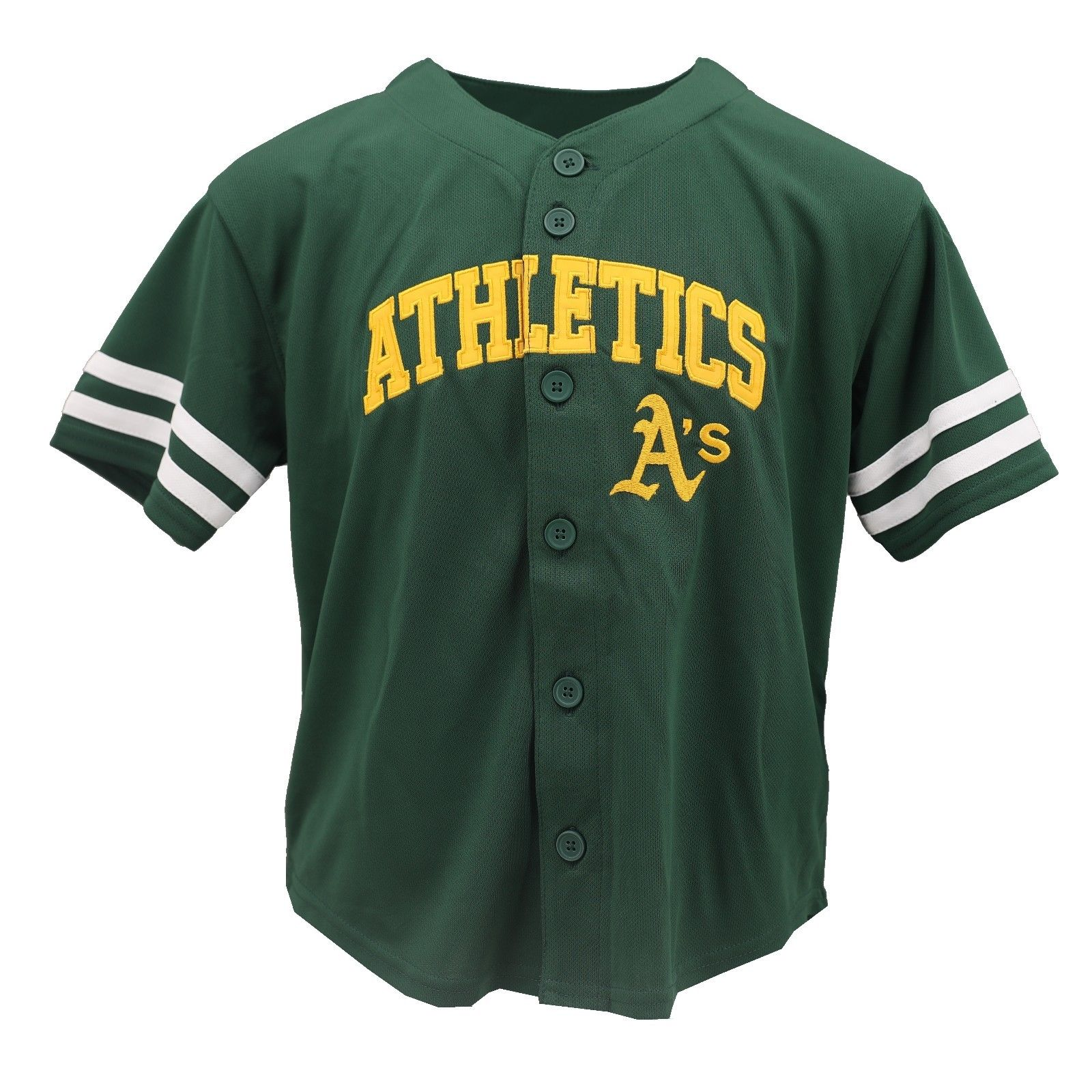 Oakland Athletics Official MLB Genuine Kids Youth Size Jersey New with Tags