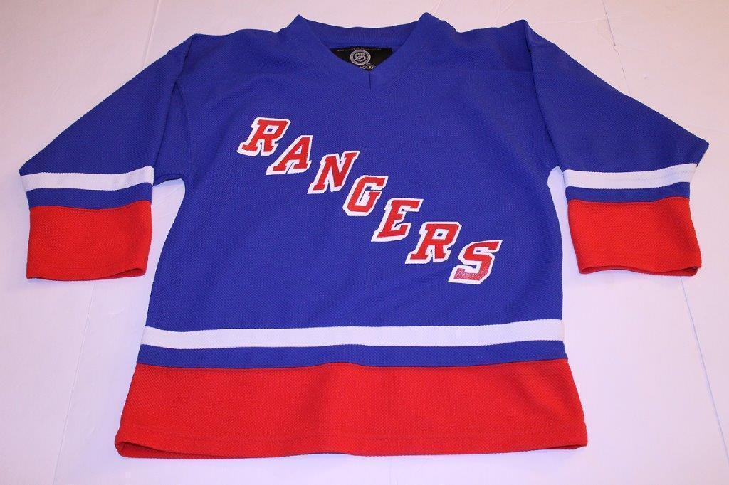 Youth New York Rangers M (10/12) Jersey (Royal Blue) NHL Jersey